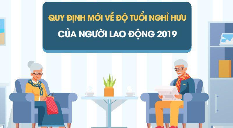 Quy định mới về độ tuổi nghỉ hưu của người lao động 2019