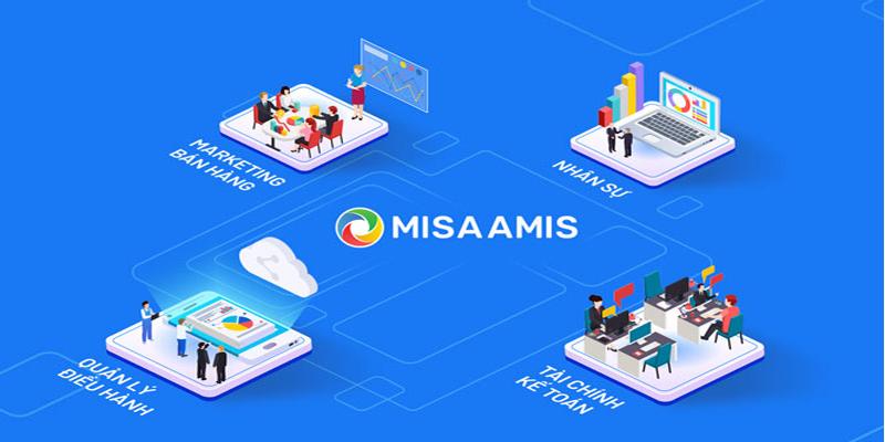 Giao diện phần mềm quản lý công việc Misa